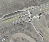 Pedestrian Improvement Concept #4