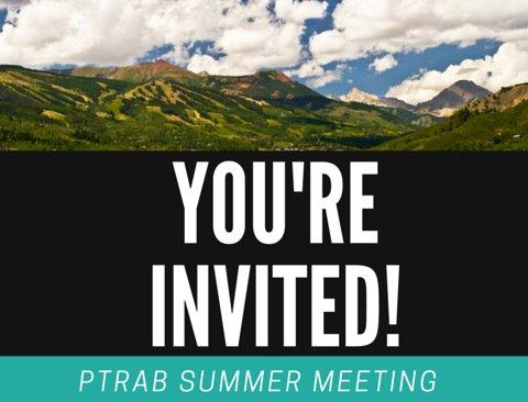 PTRAB summer meeting e-vite