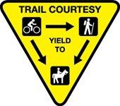 Trail Etiquette
