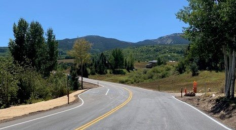 brush creek road open