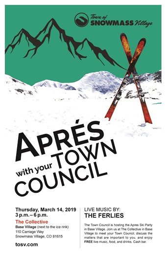Apres with Town Council