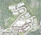 Snowmass Center proposed site plan