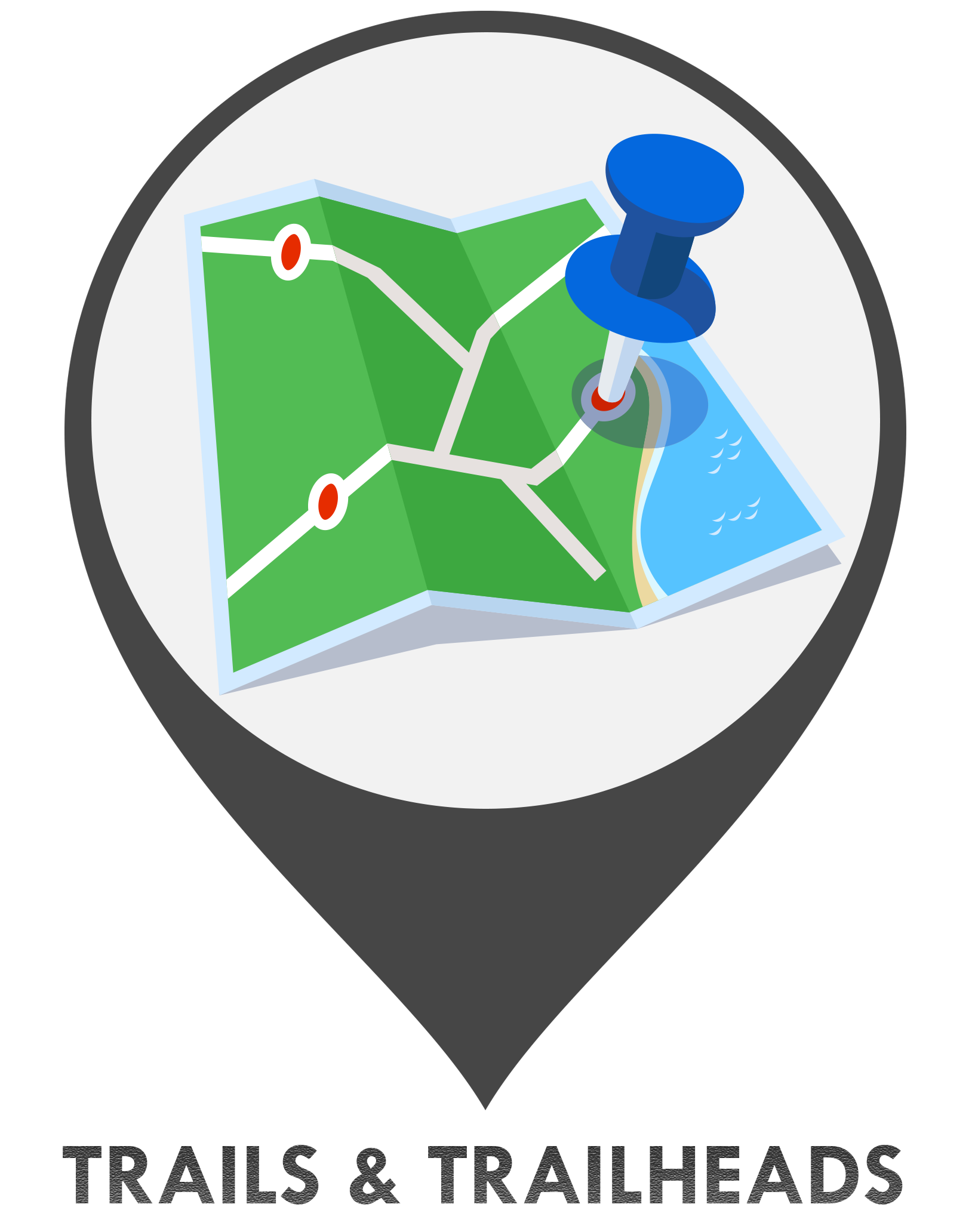 Trails and Trailheads Icon