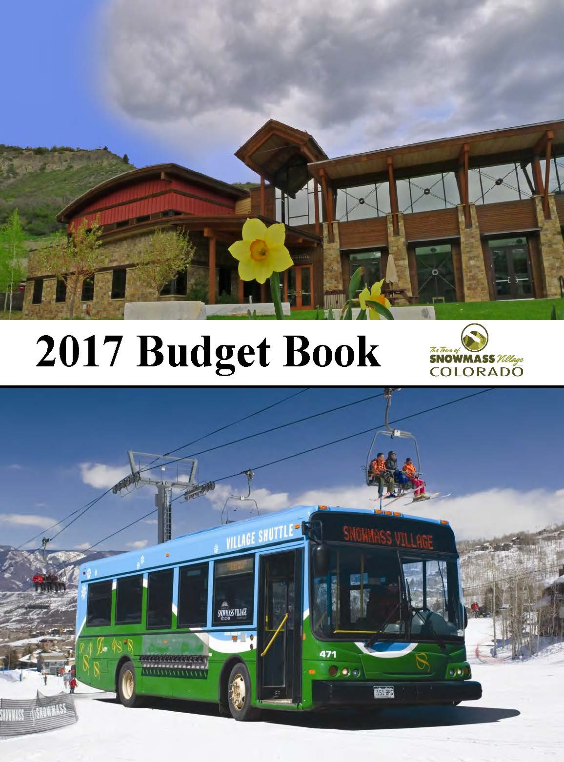 2017 BUDGET BOOK cover