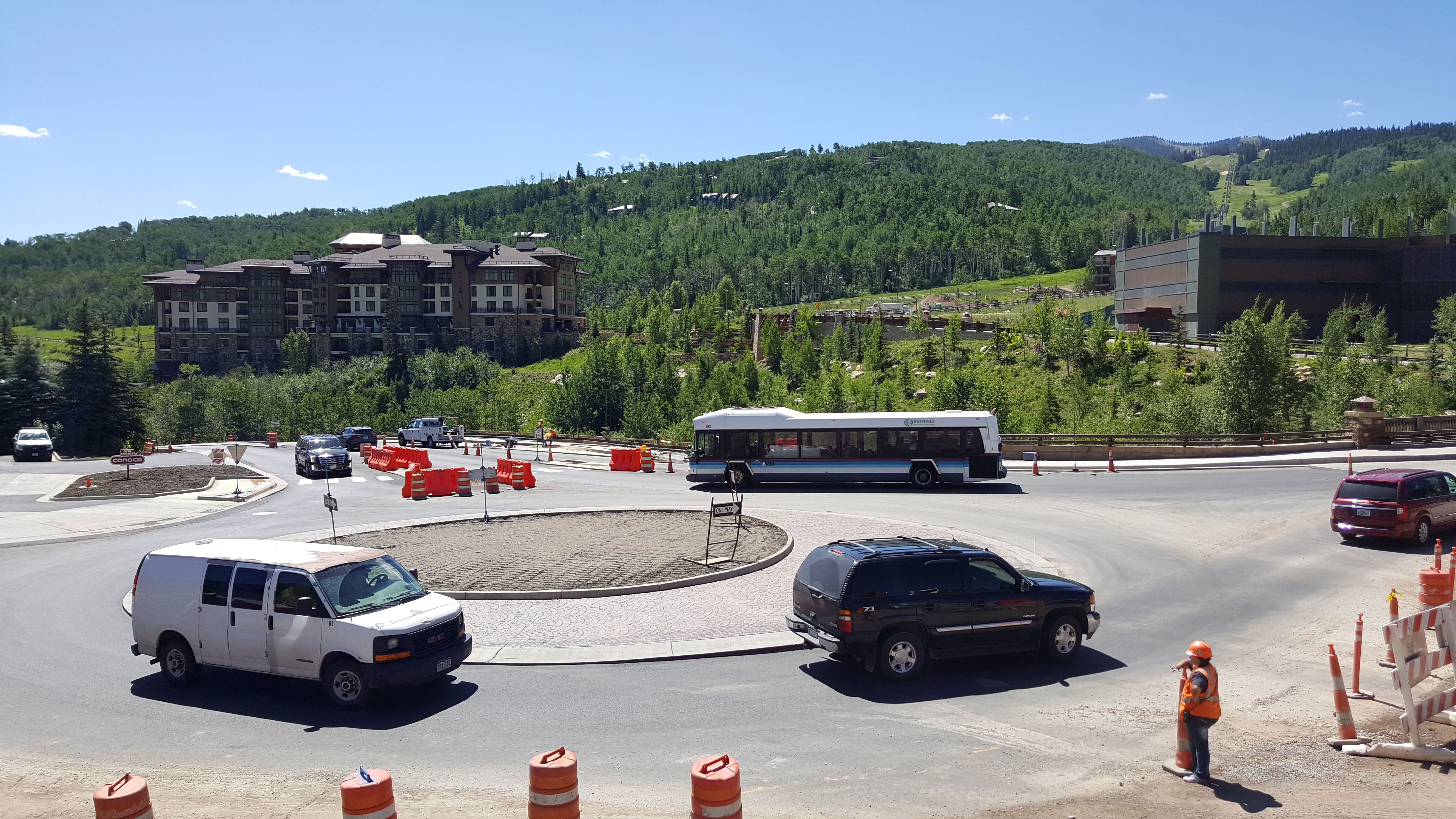 Roundabout opens